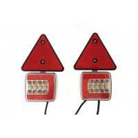 [Magnetická lampa přívěsu 25 LED, trojúhelník + vodič 7,5 m]