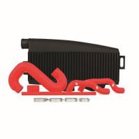 [Intercooler Mishimoto Subaru WRX/STI 2002-2007 Top Mount + Piping Kit]