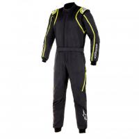 [Kombinéza Alpinestars GP RACE V2 SUIT - Black/Yellow Fluorescent]