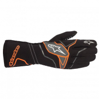 [Rukavice Alpinestars TECH-1 KX V2 GLOVE - Black/Orange Fluorescent]