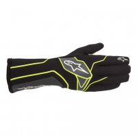 [Rukavice Alpinestars TECH-1 K V2 GLOVE - Black/Yellow Fluorescent/Anthracite]