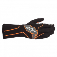 [Rukavice Alpinestars TECH-1 K V2 GLOVE - Black/Orange Fluorescent]