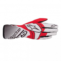 [Rukavice Alpinestars TECH-1 K RACE V2 GLOVE - White/Red]