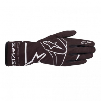 [Rukavice Alpinestars TECH-1 K RACE S. V2 SOLID GLOVE - Black/White]