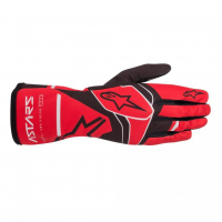 [Rukavice Alpinestars TECH-1 K RACE S. V2 SOLID GLOVE - Red/Black/Gray]