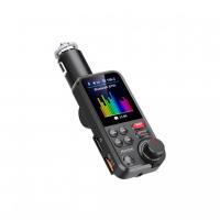 [Bluetooth / MP3 / FM modulátor bezdrôtový s USB / SD portom do CL s TFT LCD]