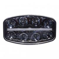 [LED svetlo s pozičným svetlom oválne, 8x8W, 210x140mm, ECE R7 / R10 / R112]