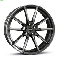 [Borbet LX graphite spoke rim polished]