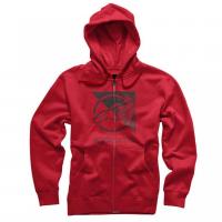 [Pánska červena mikina RIFT ZIP HOODIE Alpinestars 1036-53011 308]