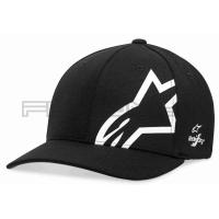 [Pánska čierno - biela šiltovka CORP SHIFT SONIC TECH HAT Alpinestars 1019-81110 1020]