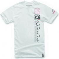 [Panské biele tričko LEADER TEE Alpinestars krátke 1016-72036 20]