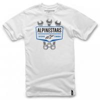 [Panské biele tričko SHIFT TEE Alpinestars krátke 1036-72010 20 M]