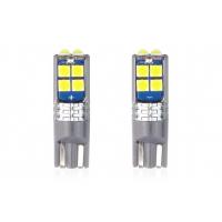 [LED CANBUS 10SMD 3030 T10 W5W bílá 12V / 24V]