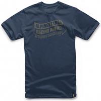 [Pánske modré tričko SWERVE TEE Alpinestars krátke 1047-72032 70]