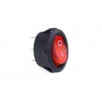 [Eliptický spínač 12V / 230V (s červeným světlem) BU02]