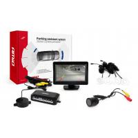 """[Asistent parkovania LCD 4,3"""" s kamerou HD-301-IR 4-senzorové, biele]"""