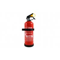 [Praškový hasiací prístroj ABC s manometrom a držiakom. 1Kg]