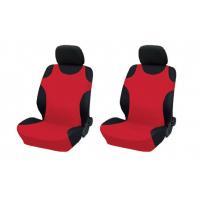 """[Bavlněné potahy sedadel """"Košile"""" - červené, 2 ks.]"""