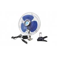 [Kovový ventilátor do auta so skrutkovacím uchytením + sponou CFAN-15 + 24V]