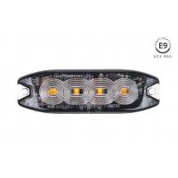 [Výstražné oranžové osvetlenie 4x3W LED R65 R10 12/24V IP67]