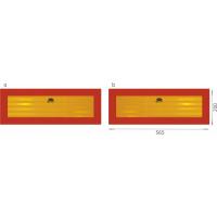 [Zadné Reflexné štítky TW-P2 / RR 101-01W-71 (2 ks)]