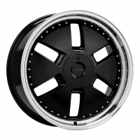 [AXXION Y1 - GLOSSY BLACK WITH FULL MACHINED LIP]