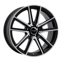 [WHEELWORLD WH30 - BLACK MATT FULL MACHINED]