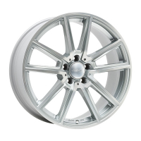 [WHEELWORLD WH30 - SILVER FULL MACHINED]
