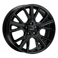 [WHEELWORLD WH34 - BLACK GLOSSY PAINTED]