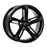 [WHEELWORLD WH36 - BLACK GLOSSY PAINTED]