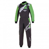[Kombinéza Alpinestars KMX-9 V2 GRAPH1 SU - BLACK GREEN WHITE]