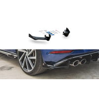 [SPLITTERY TYLNE BOCZNE RACING DURABILITY + FLAPS VW GOLF 7 R FACELIFT]