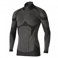 [Alpinestars Nátelník RIDE TECH TOP LS WINTER - BLACK GRAY]