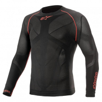 [Alpinestars Nátelník RIDE TECH V2 TOP LONG SLEEVE SUMMER - BLACK RED]