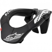 [Alpinestars Chránič krku YOUTH NECK SUPPORT - BLACK WHITE]