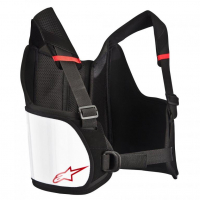 [Alpinestars Chránič rebier YOUTH BIONIC RIB SUPPORT - BLACK WHITE]