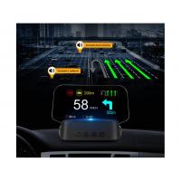 """[HEAD UP DISPLAY 4 """"/ TFT LCD, OBDII + GPS + navigáciám, fényvisszaverő Tabla]"""