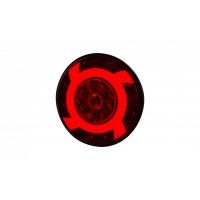 [Multifunkčné zadné svetlo HOR 75 - LUCY, LED 12/24V (s krúžkom, smerovým svetlom, brzdovým svetlom, obrysovým svetlom, kábel 4x0,5 mm2, dĺžka 1,5 m)]