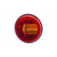 [Multifunkčné zadné svetlo HOR 96A - LUNA, LED 12/24V, PRAVÉ (montáž na stenu, pozičné svetlo, brzdové svetlo a smerové svetlo, guľatý kábel 4x0,5 mm2, dĺžka 1,5 m)]