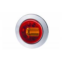 [Multifunkčné zadné svetlo HOR 96A - LUNA, LED 12/24V, PRAVÉ (zapustené, pozičné svetlo, brzdové svetlo a smerové svetlo, guľatý kábel 4x0,5 mm2, dĺžka 1,5 m)]