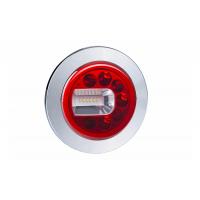 [Multifunkčné zadné svetlo HOR 96B - LUNA, LED 12/24V, ĽAVÉ (zapustené, pozičné, hmlové a cúvacie svetlo, guľatý kábel 4x0,5 mm2, dĺžka 1,5 m)]