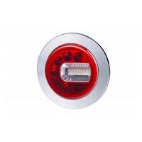 [Multifunkčné zadné svetlo HOR 96B - LUNA, LED 12/24V, PRAVÉ (zapustené, pozičné, hmlové a cúvacie svetlo, guľatý kábel 4x0,5 mm2, dĺžka 1,5 m)]