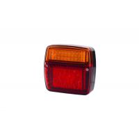 [Multifunkčné zadné svetlo HOR 58, krátke, LED 12 / 24V]