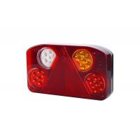 [Zadné svetlo kombinované s trojuholníkovým reflektorom HOR 68, PRAVÉ (verzia LED III, bez osvetlenia ŠPZ, svetlo - obrysové, brzdové, smerové, hmlové, cúvacie)]