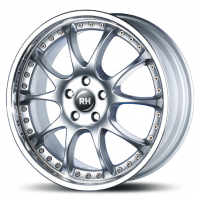 [RH RIMS RMK DYNAMIK - SILVER WITH STAINLESS LIP]