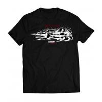 [Koszulka T-Shirt TurboWorks DriftTeam Czarna S]