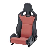 [Fotel RECARO Sportster CS SAB z podgrzewaniem Artificial leather black / Dinamica red]