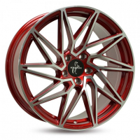 [KESKIN KT20 - CANDY RED FRONT POLISH]