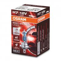 [Halogén. Žiarovka OSRAM H7 12V 55W PX26d Night Breaker Laser +150% - 1ks]