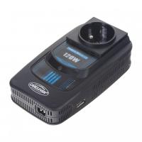 [Menič napätia z 12 / 220V + USB 120W]